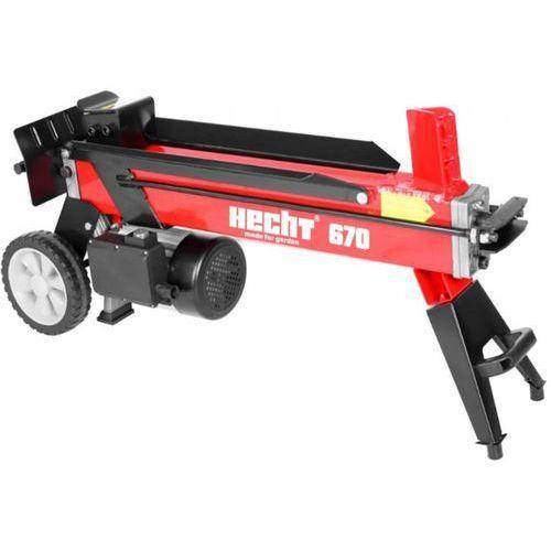 Łuparka do drewna hydrauliczna elektryczna pozioma rębak hecht 670 nacisk 7 ton - oficjalny dystrybutor - autoryzowany dealer hecht - ewimax marki Hecht czechy