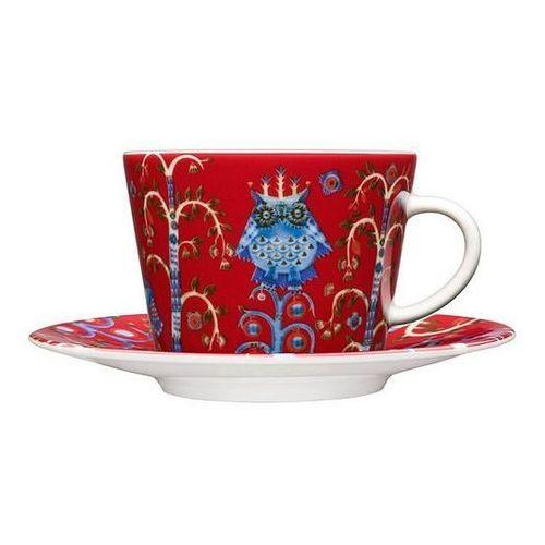 Filiżanka do cappuccino bez spodka taika czerwona marki Iittala