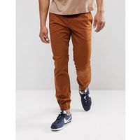 G-Star Bronson Slim Cuffed Chino - Brown, kolor brązowy