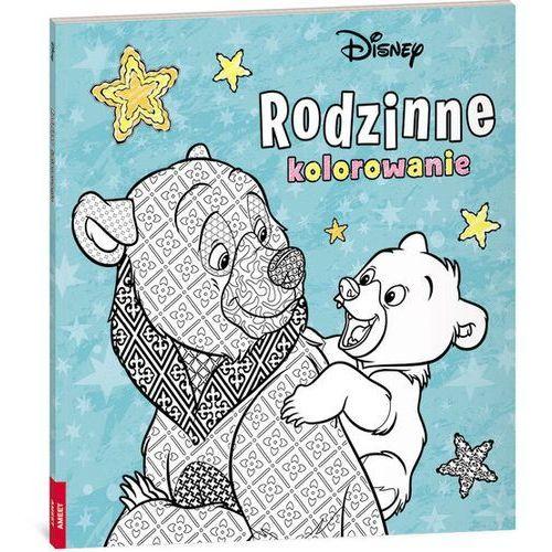 Disney Rodzinne kolorowanie - Ameet OD 24,99zł DARMOWA DOSTAWA KIOSK RUCHU (9788325327453)