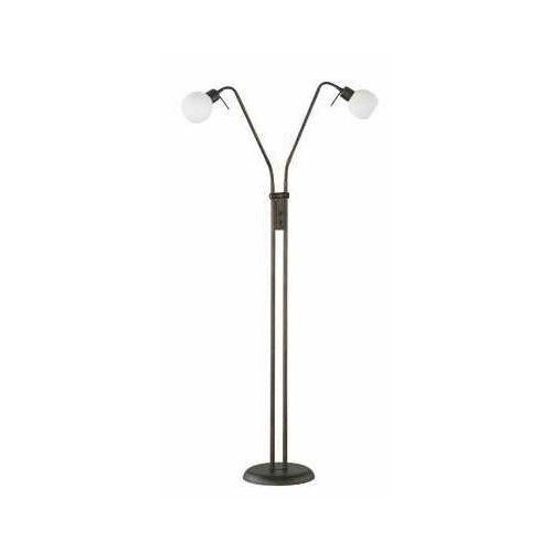 Trio -leuchten freddy lampa stojąca led ciemnobrązowy, rudy, 2-punktowe - dworek/vintage - obszar wewnętrzny - freddy - czas dostawy: od 3-6 dni roboczych