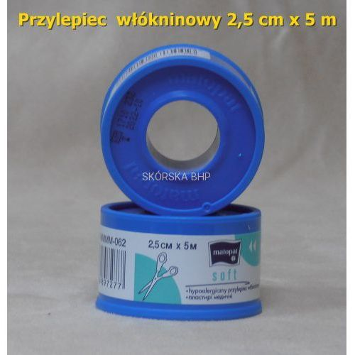 Przylepiec włókninowy 2.5 cm x 5 m (plaster bez opatrunku), 0C88-609C9_20171215221122