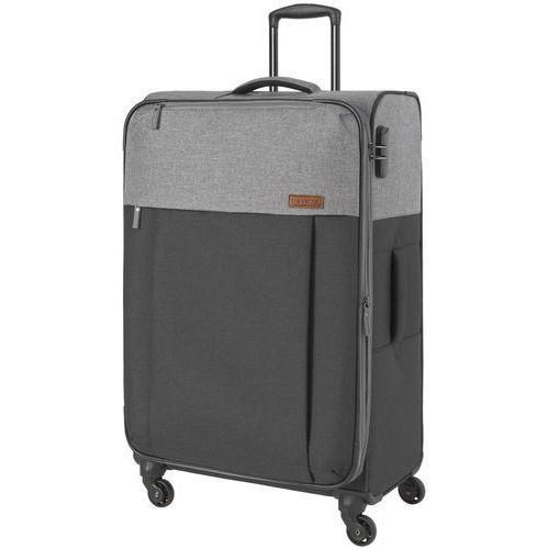 Travelite Neopak walizka duża poszerzana 77 cm / szara - antracyt