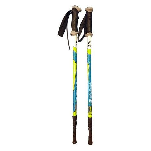 adventure as green - kije trekkingowe r. 105-135 cm marki Erbo