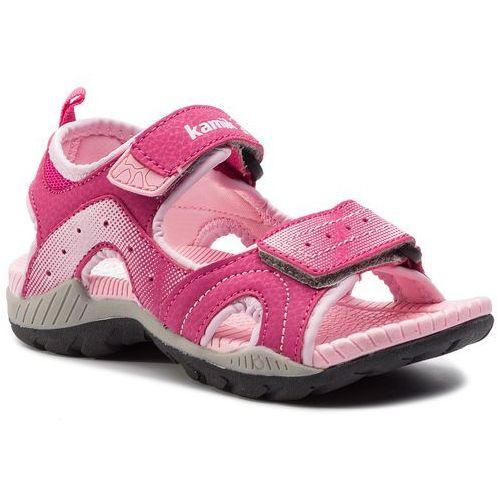 Sandały - dune hk4129 pink/rose marki Kamik