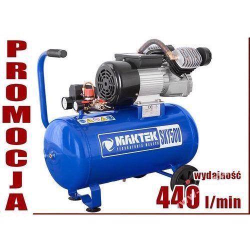 SPRĘŻARKA TŁOKOWA KOMPRESOR TŁOKOWY OLEJOWY MAKTEK SKY50 V2 z kategorii Sprężarki i kompresory