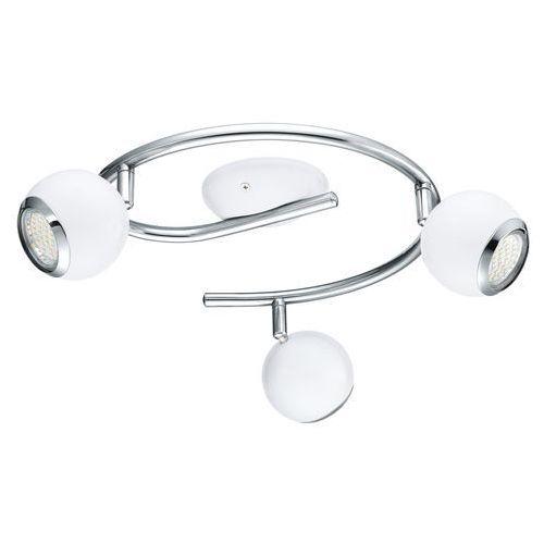 Eglo Plafon bimeda 31003 lampa sufitowa 3x2,5w led gu10 biała, chrom (9002759310035)