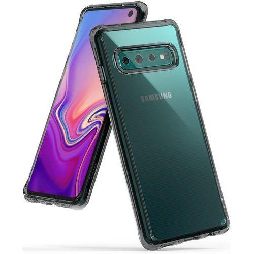 Ringke Fusion etui pokrowiec z żelową ramką Samsung Galaxy S10 czarny (FSSG0056-RPKG), kolor czarny