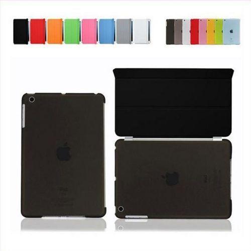Bestphone Smart cover + back ipad air czarny - czarny
