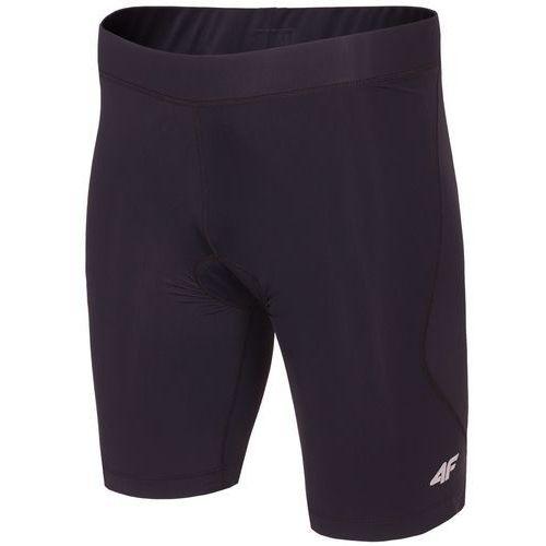 Męskie spodnie rowerowe wkładka l18 rsm001 czarny xl marki 4f