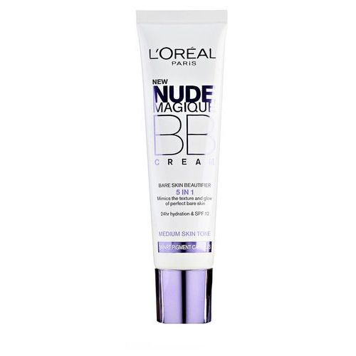 L'oréal paris nude magique nude magique krem bb 5 w 1 spf 20 odcień medium skin tone (bb cream bare skin beautifier) 30 ml
