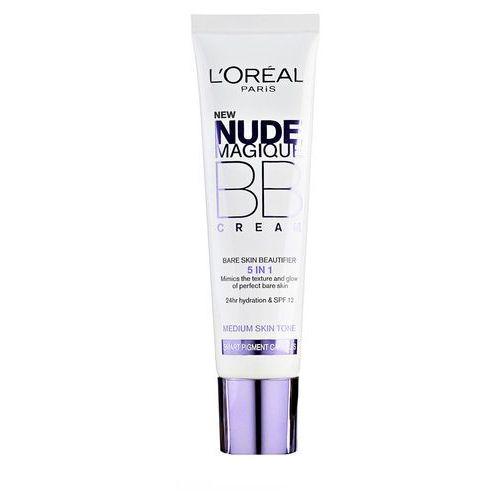 nude magique nude magique krem bb 5 w 1 spf 20 odcień medium skin tone (bb cream bare skin beautifier) 30 ml marki L'oréal paris