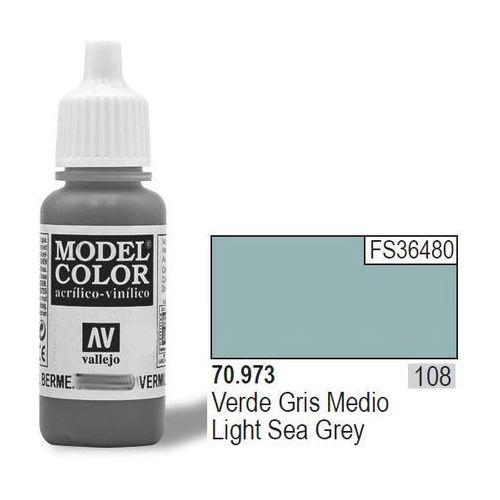 Vallejo Farba nr 108 light sea grey 17 ml matt
