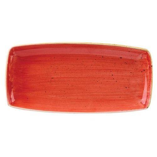 Półmisek prostokątny 295 x 150 mm, czerwony   , stonecast berry red marki Churchill