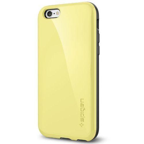 Etui SPIGEN do iPhone 6 Case Capella Series Żółty (8809404213755)