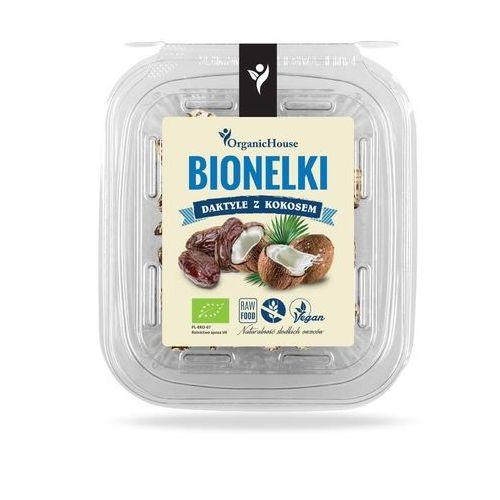 Bionelki daktyle z kokosem BIO 80 g OrganicHouse