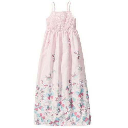 Sukienka bonprix bladoróżowy