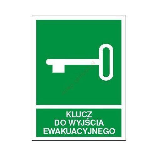 Znak Klucz do wyjścia ewakuacyjnego PF, kup u jednego z partnerów
