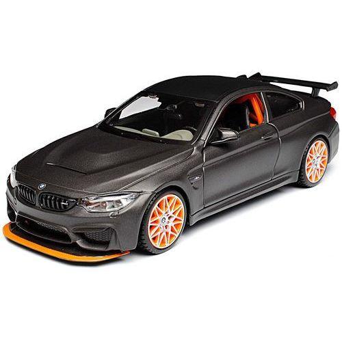 model samochodu bmw m4 gts 1:24, szary marki Maisto