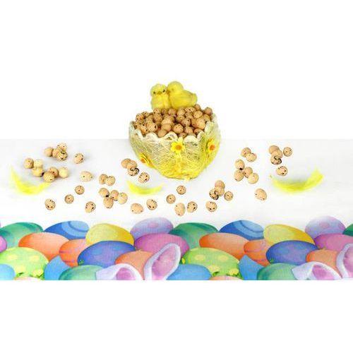 Jajka styropianowe przepiórcze nakrapiane naturalne - 2 cm - 100 szt.