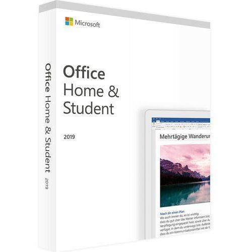 office home & student 2019 pc szybka wysyłka marki Microsoft