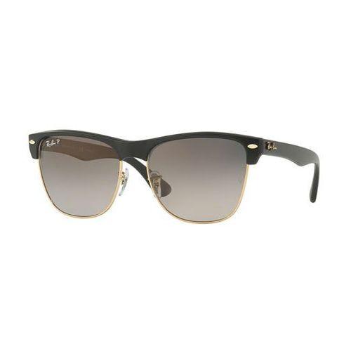 Okulary słoneczne rb4175 clubmaster oversized flash lenses polarized 877/m3 marki Ray-ban