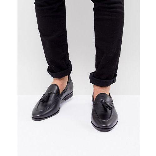 Kg By Kurt Geiger Wide Fit Rochford Tassel Loafers - Black