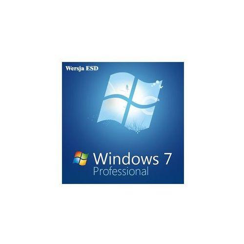 windows 7 profesional pl coa od partnera microsoft marki Microsoft