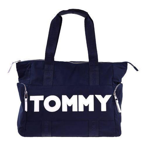 Torebka nylon tote marki Tommy hilfiger