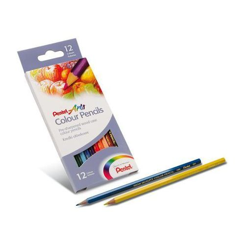 Kredki ołówkowe 12 kolorów marki Pentel