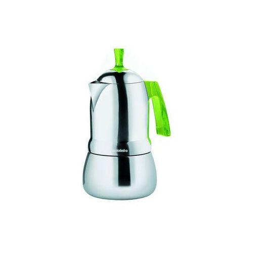 - art & cafe - kafetiera na 3 filiżanek, zielona - zielony marki Guzzini