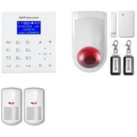 Alarm gsm + wifi e8 r2 + syrena bezprzewodowa 120 db - e8 r2 + syrena bezprzewodowa 120 db marki Erda electronic