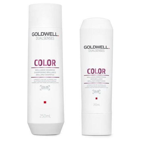 Goldwell color   zestaw do włosów farbowanych: szampon 250ml + odżywka 200ml