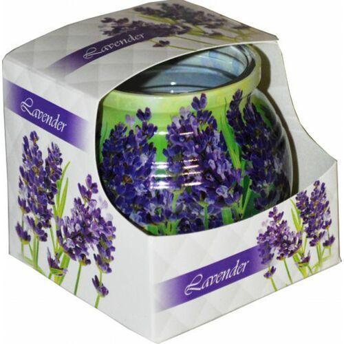 Świeca zapachowa w szklance powlekanej Miral Lavender (5901969630633)