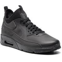 Buty - air max 90 ultra mid winter 924458 004 black/black/anthracite, Nike, 42-45.5