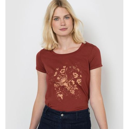 R studio T-shirt z nadrukiem, z krótkim rękawem