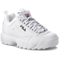 Sneakersy FILA - Disruptor Low 1010262.1FG White, w 5 rozmiarach