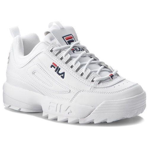 Fila Sneakersy - disruptor low 1010262.1fg white