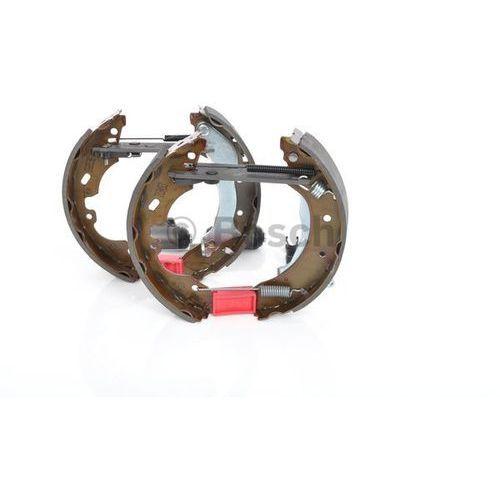 BOSCH KIT SUPERPRO, zestaw szczek hamulcowych + cylinderek hamulca koła; zamontowany; z tyłu, 0 204 114 595, BOSCH 0204114595