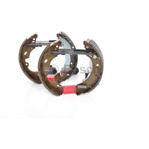 kit superpro, zestaw szczek hamulcowych + cylinderek hamulca koła; zamontowany; z tyłu, 0 204 114 595 marki Bosch