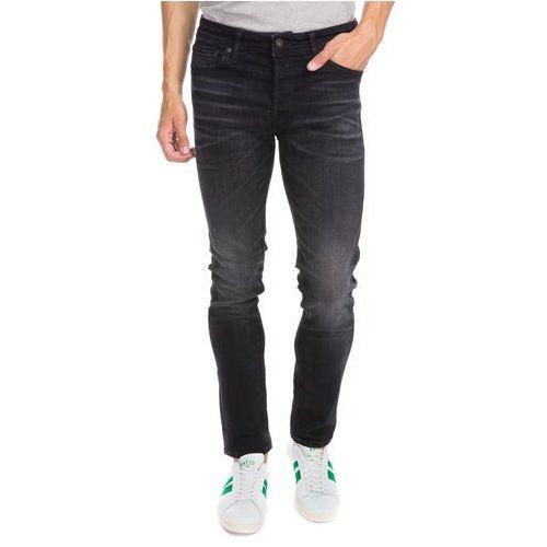 Jack & jones  jjitim jjoriginal jeansy slim fit black denim