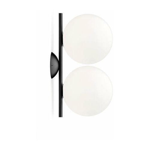 Flos Ic-kinkiet ścienny lub plafon 2-punktowy metal/szkło (8059607000038)