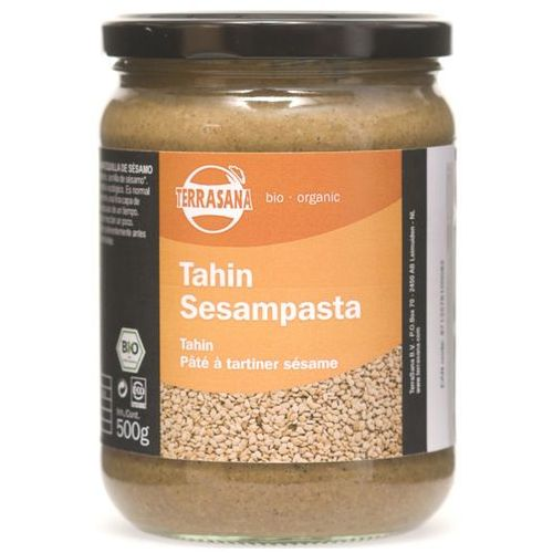 Tahina (pasta sezamowa) bio 500g -  od producenta Terrasana