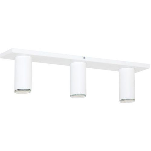 Aldex Lampa oprawa sufitowa plafon slim 3x35w gu10 biała 723pl/e (5904798628321)