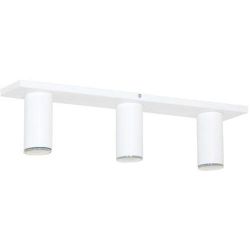 Aldex Lampa oprawa sufitowa plafon slim 3x35w gu10 biała 723pl/e