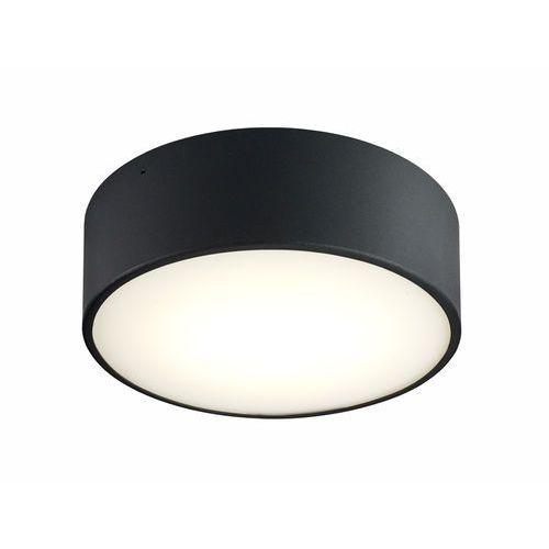 Plafon lampa sufitowa disc led 15w 30305102 minimalistyczna oprawa metalowa okrągła czarna marki Kaspa