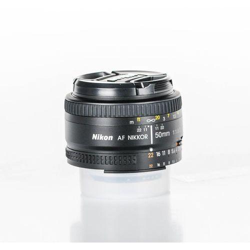Obiektyw  af nikkor 50mm f/1.8d marki Nikon