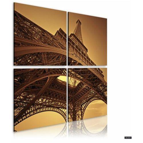 SELSEY Obraz - Paryż - Wieża Eiffla 80x80 cm (5903025038742)