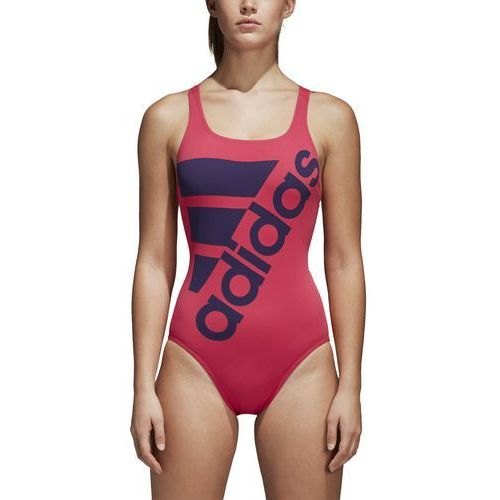 Strój do pływania adidas graphic performance CV3660, kolor różowy