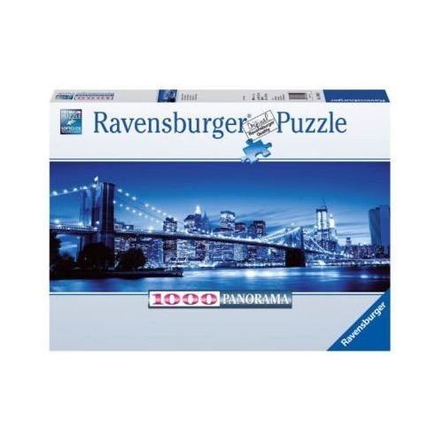 Ravensburger Raven. 1000 el. panorama, n. jork nocą
